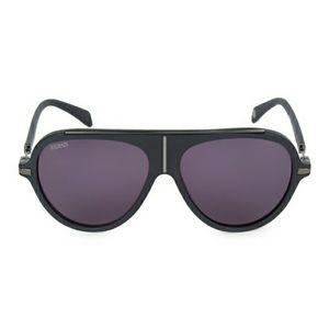New Balmain 60MM Aviator Sunglasses